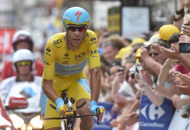 Vincenzo Nibali at Tour de France 2014 stage 20 time trial