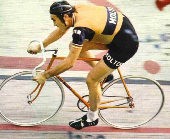 Eddy Merckx, Hour Record, in Mexico City, 1972