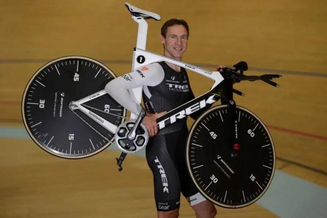 Jens Voigt's Hour Record Attempt Bike