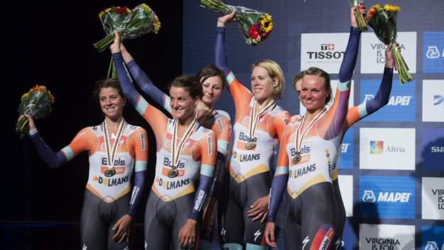 Boels-Dolmans, silver medal at UCI Worlds 2015 Richmond