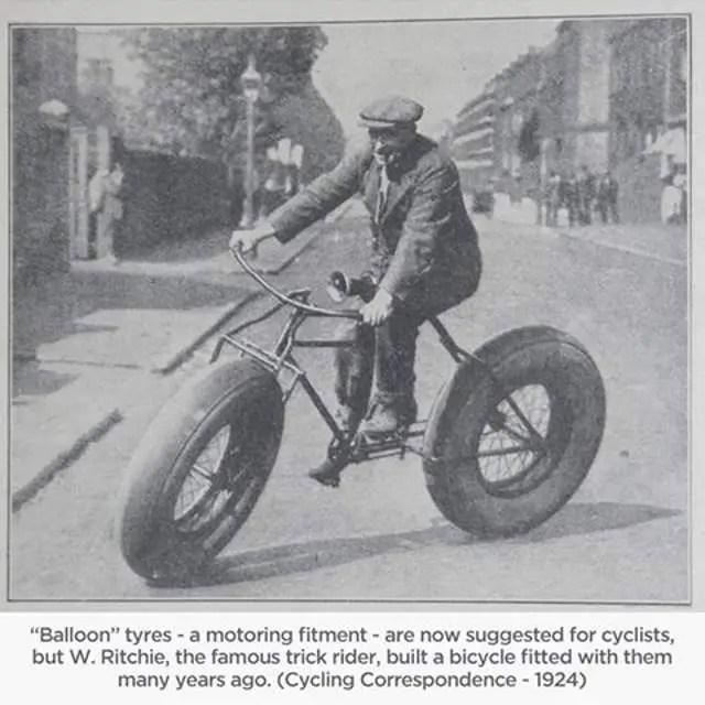 W. Ritchie, Balloon Tyres (1924)