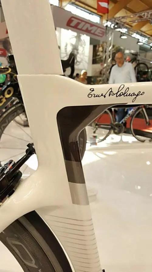 Colnago Concept, Ernesto Colnago sign