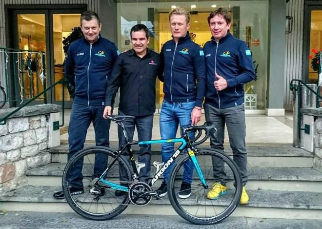 Astana Argon 18 bike