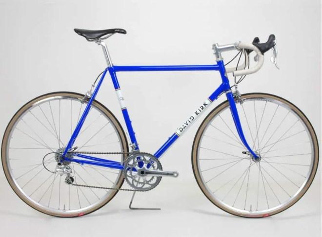 David Kirk Roma custom steel road bike