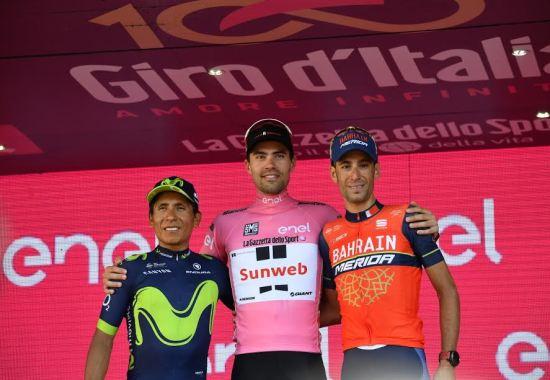 Tom Dumoulin Wins The Giro d'Italia 2017 - Image Copyright Cycling.Today
