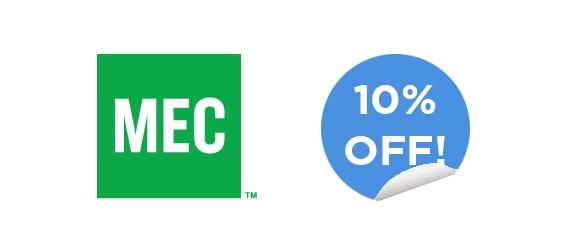 MEC 10 percent off