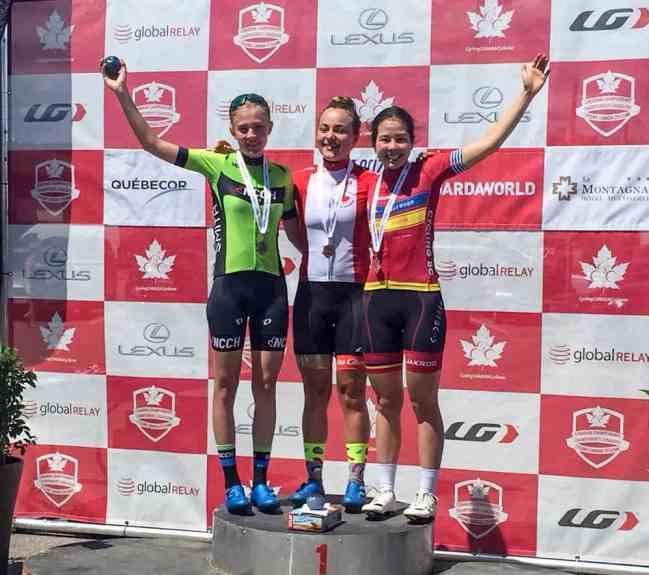 Junior Women's winners
