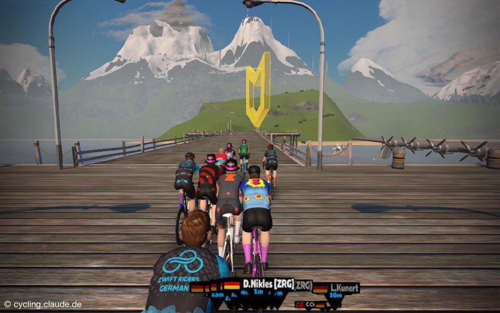 Alpe du Zwift CyclingClaude
