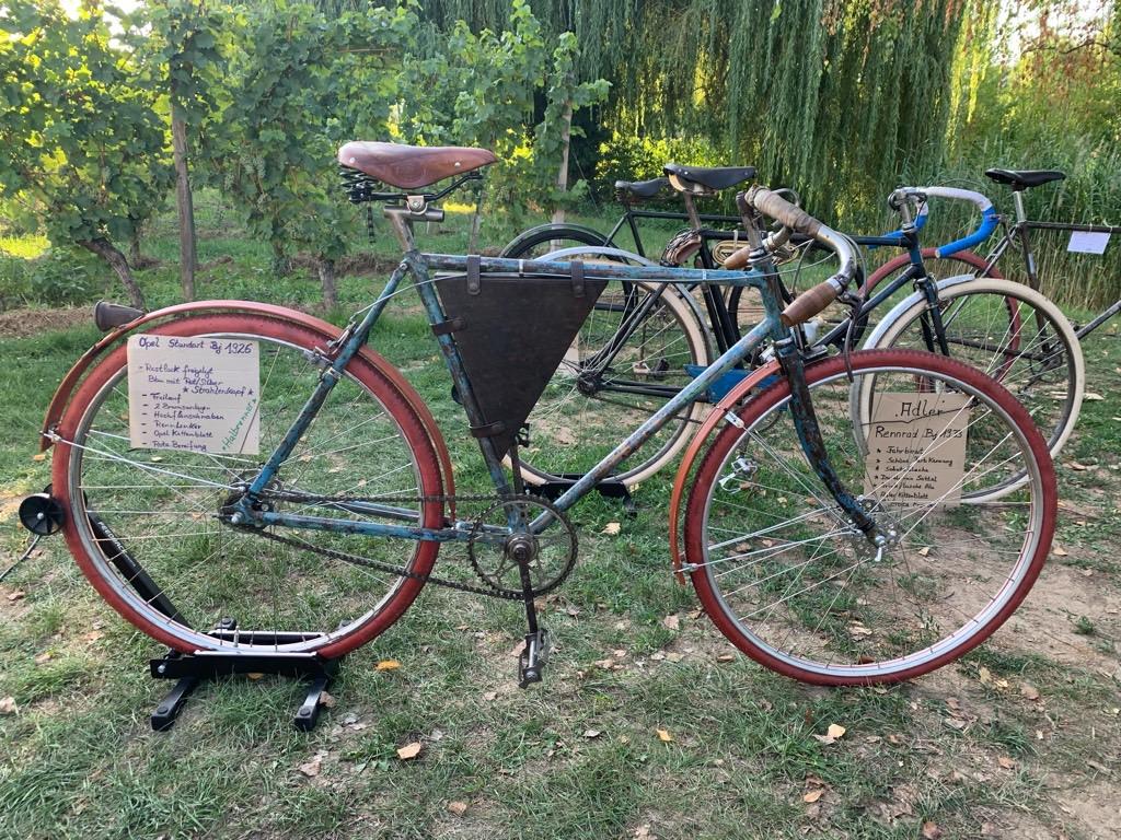 Opel Standard 1926 Farhrrad