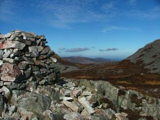 on Errigal mountain