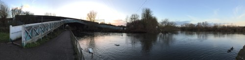 Bridge and Thames
