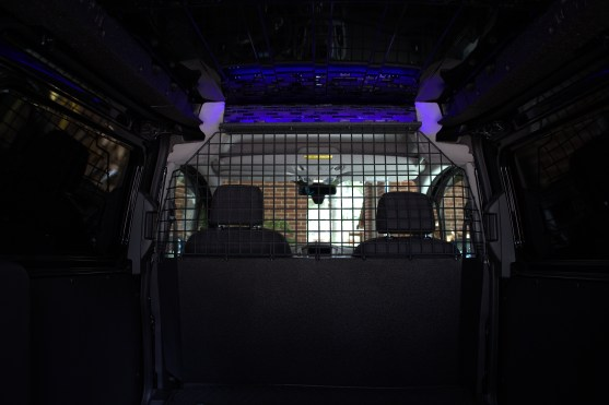 With accent light in cargo area on