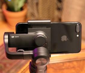 iPhone 7 Plus & DJI Osmo Mobile