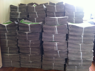 10,000 copies of Cycling in Dublin edition on?