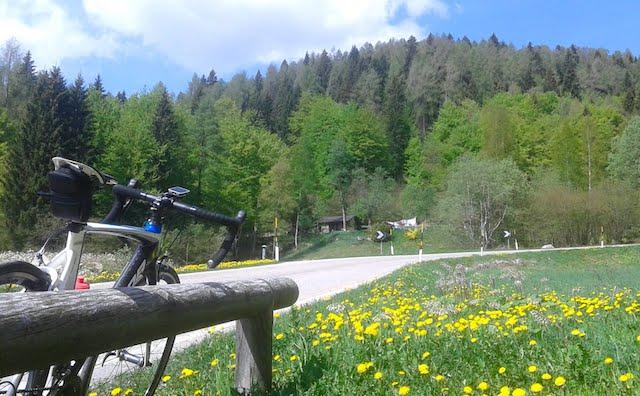 Passo Brocón in bicicletta: la salita da Castello Tesino
