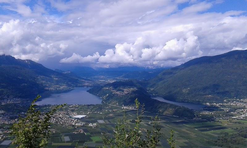Menador (Kaiserjägerstraße) in bicicletta: una delle strade più panoramiche del Trentino
