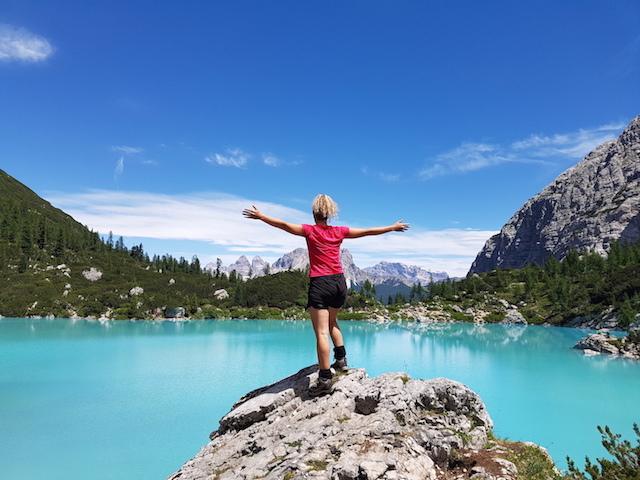 Dolomiti ampezzane: escursione al lago di Sorapis