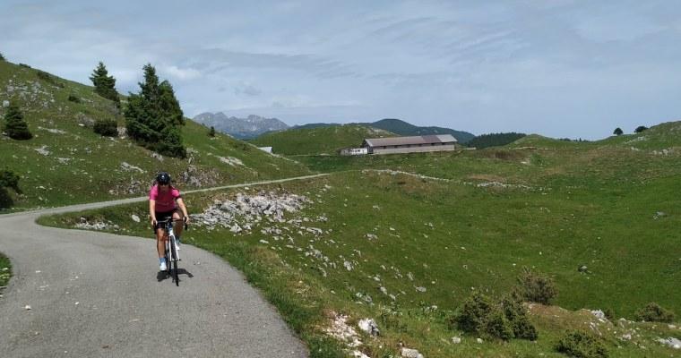 Da Piancavallo al Cansiglio in bicicletta lungo la Via del Cansiglio