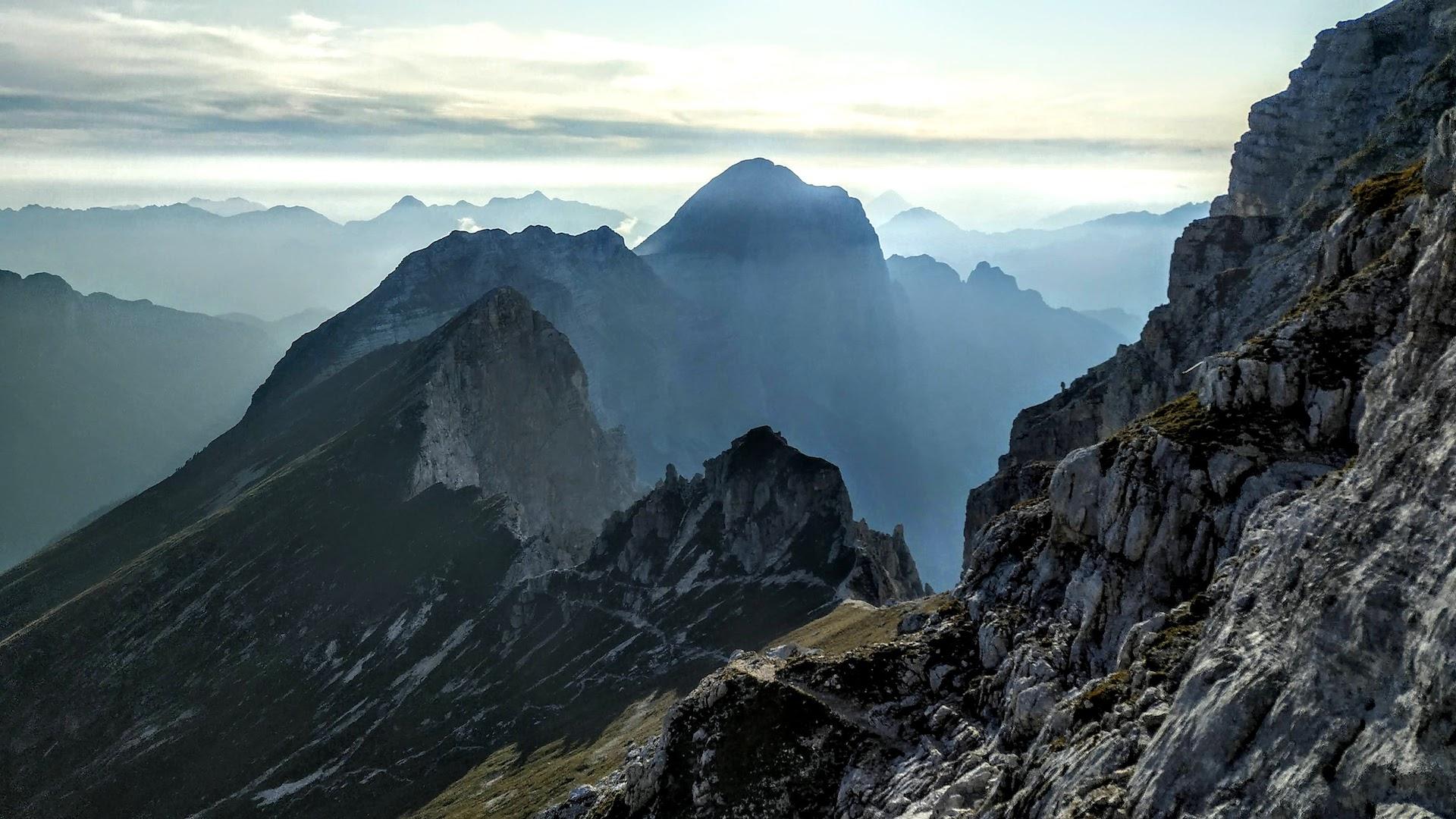 In cima allo Jôf di Montasio con la ferrata Leva: indicazioni e consigli