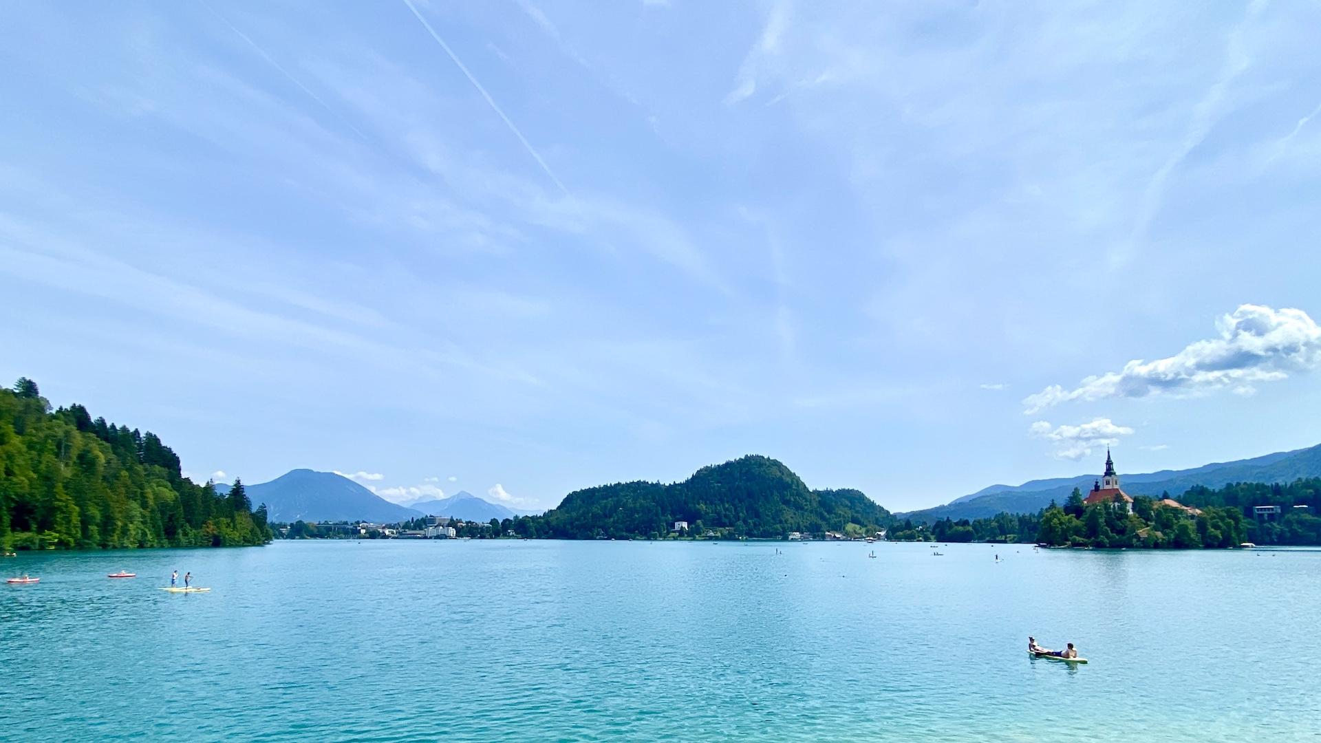 Lago di Bled in bici: l'itinerario da Tarvisio