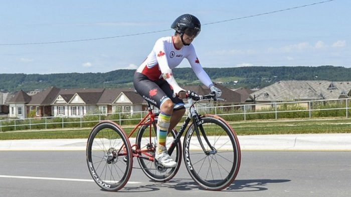 Gautier's impressive time trial victory was the fitting result of an even more impressive season -- and competition in South Africa is just getting started. (Image: Cycling Canada)
