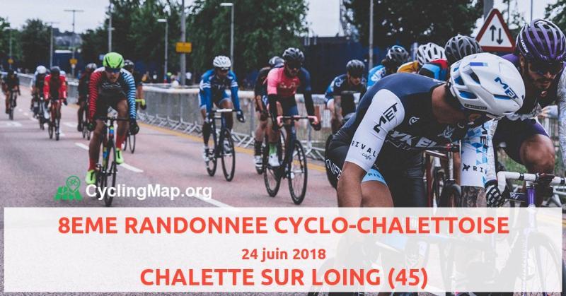 """Résultat de recherche d'images pour """"randonnée cyclo chalettoise"""""""