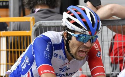 Pinot vincitore del Giro di Lombardia