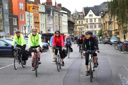 oxford city setting off