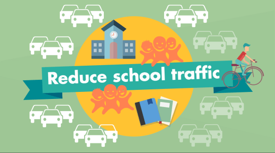 Let's reduce school traffic