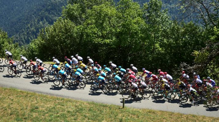 Peloton - Alpes - 11e étape Tour de France 2018