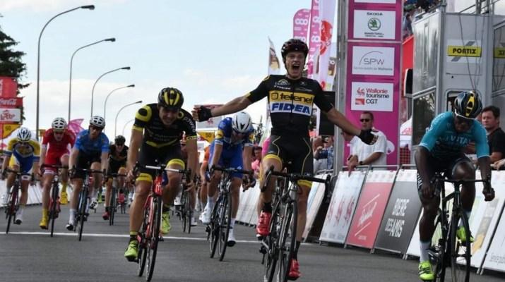Quinten Hermans - Telenet Fidea Lions - Vainqueur 4e étape Tour de Wallonie 2018