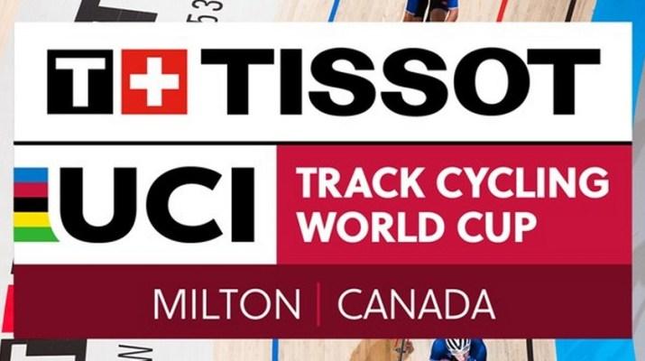 Logo - Coupe du monde de cyclisme sur piste - Milton 2018