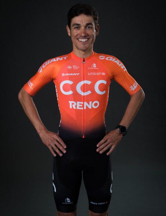 CCC Team - Amaro Antunes - Maillot 2019