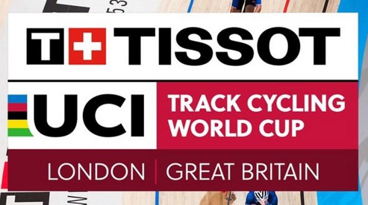 Logo - Coupe du monde de Cyclisme sur Piste 2018 - Londres