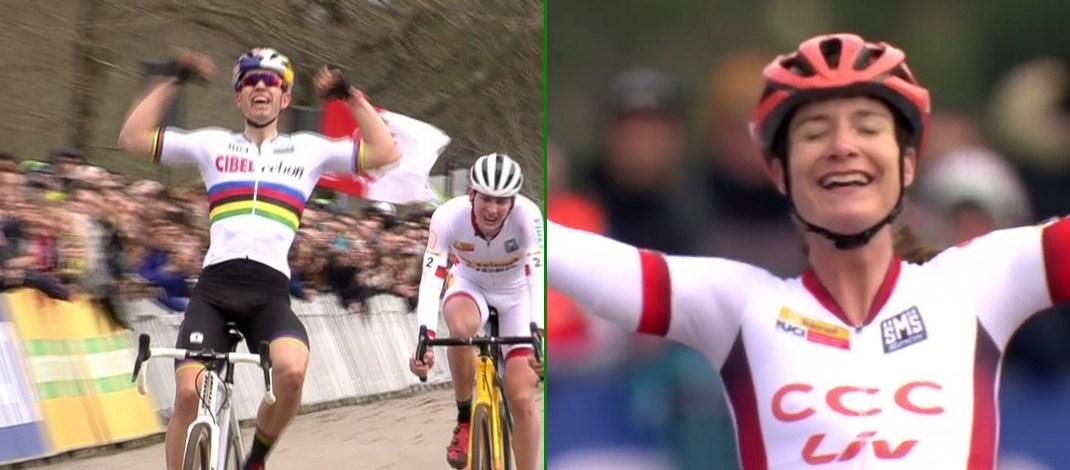 Coupe du monde de cyclo-cross #8 – Pontchâteau : le doublé de Vos, Van Aert se libère enfin