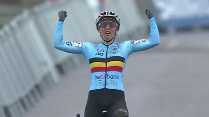 Sanne Cant - Championne du monde Cyclo-cross 2019