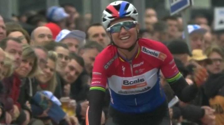 Chantal Blaak - Vainqueur Circuit Het Nieuwsblad dames 2019
