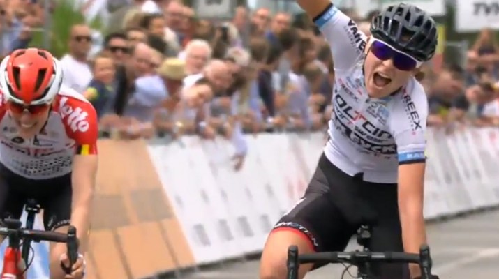 Jesse Vandenbulcke - Championne de Belgique sur route 2019