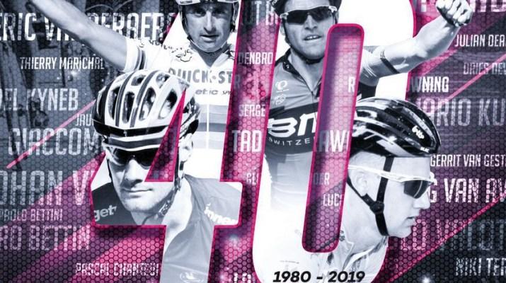 Tour de Wallonie 2019 - Affiche