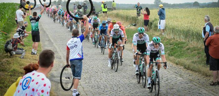 Peloton - Tunnel Cinquantenaire - 1re étape Tour de France 2019 - ASO Alex Broadway