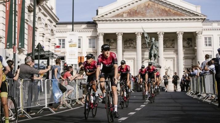 Team INEOS - Place Royale Bruxelles - Tour de France 2019