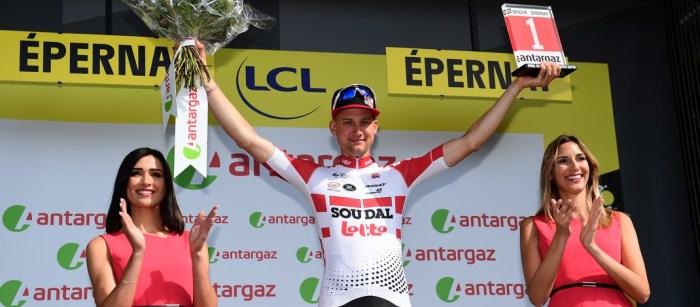 Tim Wellens - Prix de la Combativité 3e étape Tour de France 2019 - ASO Alex Broadway