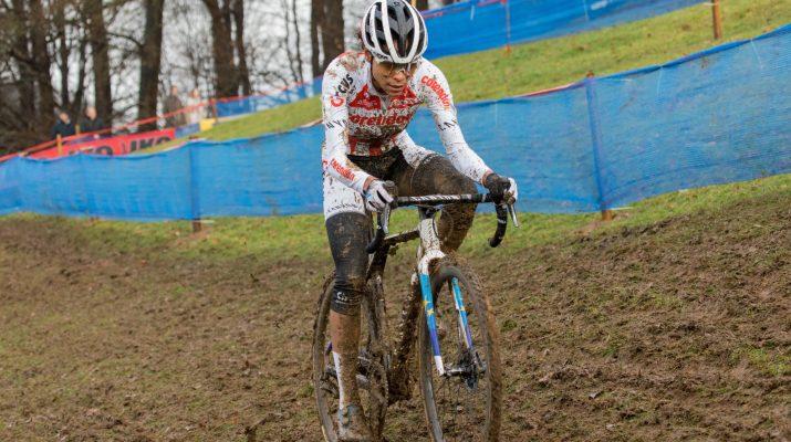 Cyclo-cross Renaix 2019 - Attaque Ceylin Del Carmen Alvarado - Alain VDP Photography