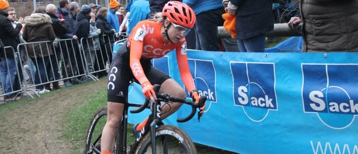 Inge Van der Heijden - CCC-Liv - Cyclo-cross de Bruxelles 2020 - Grégory Ienco