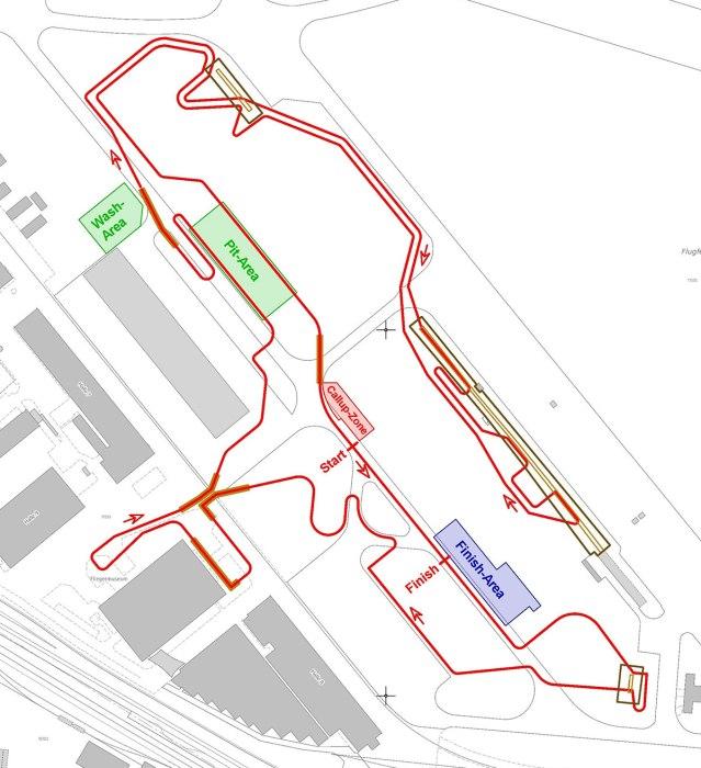 Championnats du monde de cyclo-cross 2020 à Dübendorf - Parcours