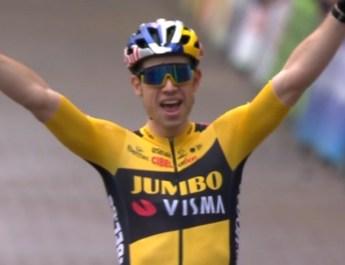 Wout van Aert - Victoire cyclo-cross Lille 2020 - Capture VRT