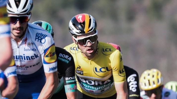 Maximilian Schachmann Maillot jaune - 6e étape Paris-Nice 2020 - ASO Fabien Boukla