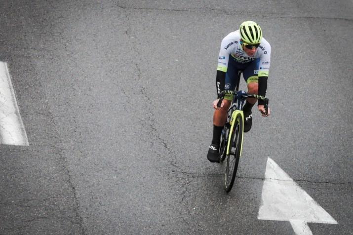 Tom Devriendt - Circus-Wanty Gobert - Échappée 3e étape Paris-Nice 2020 - ASO Fabien Boukla