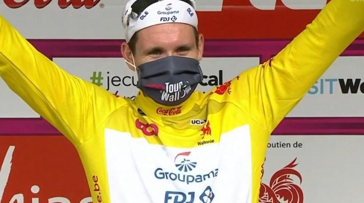 Arnaud Démare - Vainqueur Tour de Wallonie 2020 - Capture RTBF