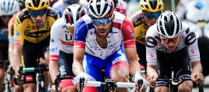Thibaut Pinot - Peloton 3e étape Critérium du Dauphiné 2020 - ASO Alex Broadway
